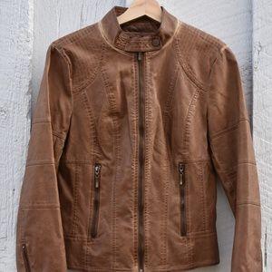 Max Studio genuine leather jacket